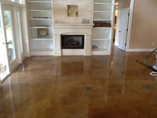 Residential Polished Concrete Floors Arlington Heights